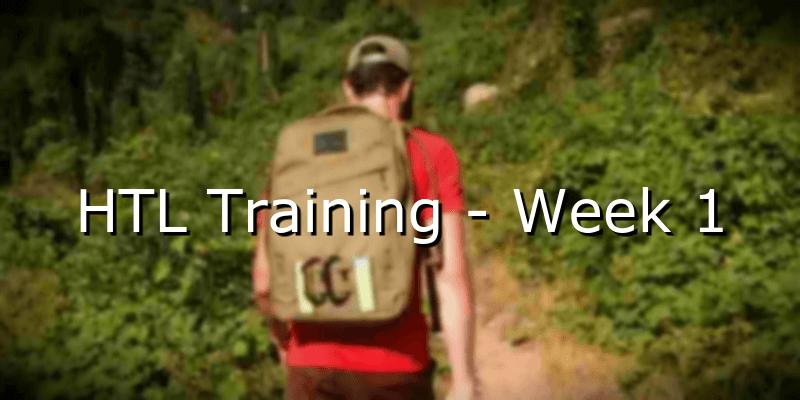 HTL Training – Week 1
