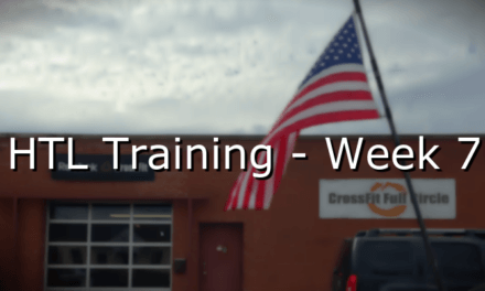 HTL Training – Week 7