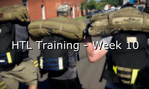HTL Training – Week 10
