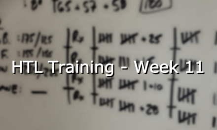 HTL Training – Week 11