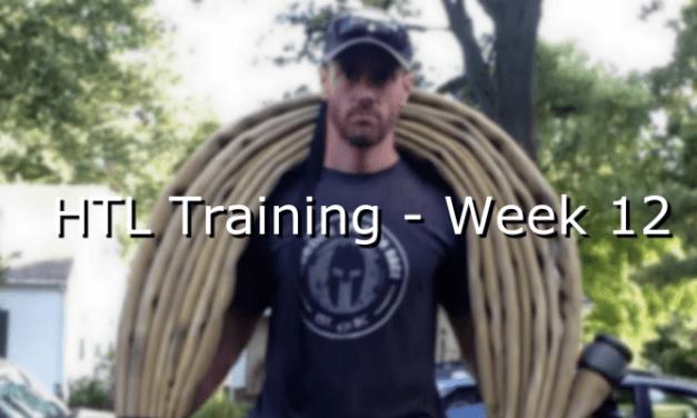 HTL Training – Week 12
