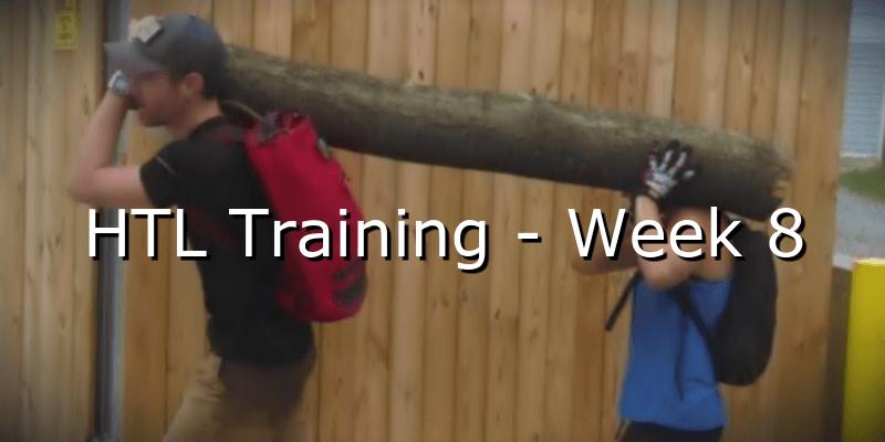 HTL Training – Week 8