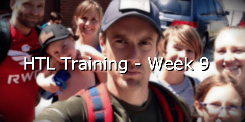 HTL Training – Week 9