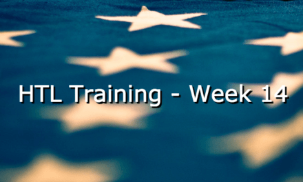 HTL Training – Week 14