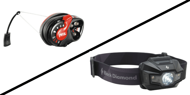 Best GORUCK Headlamp | Black Diamond Storm vs Petzl e+LITE - Ruck.Beer