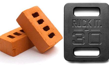 Bricks vs Plates for GORUCK