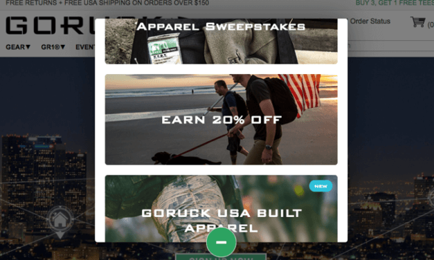 20% Off GORUCK Discount Referral Program