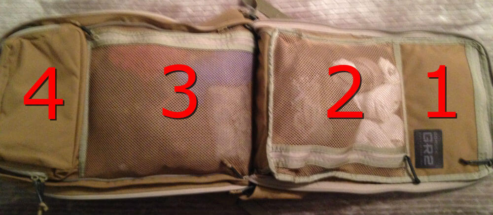 Packing my GORUCK GR2 for an 9 day Trip - Ruck Dot Beer