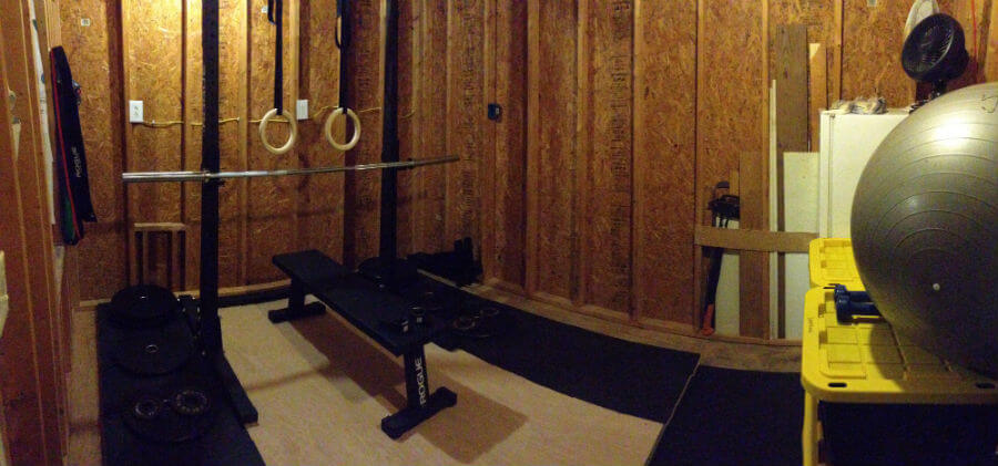 How to build a home gym with lifting platform in a shed ruck dot beer